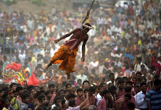 Невероятный фестиваль Шива Гаджан в Индии