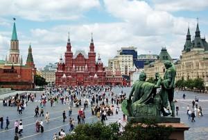 Основние достопримечательности Москвы на английском языке
