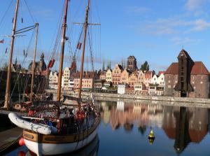 Портовый и курортный город в Польше - Гданьск