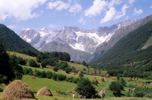 Местечко Рача в Грузии