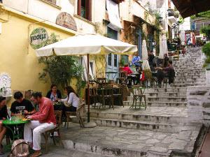 Сколько стоит покушать обед в Греции