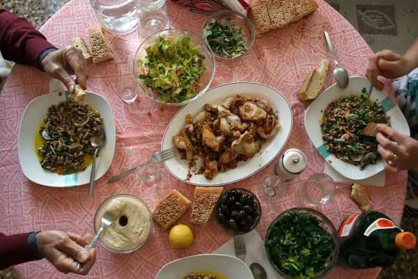 цена в ресторанах и кафе на обед в Греции
