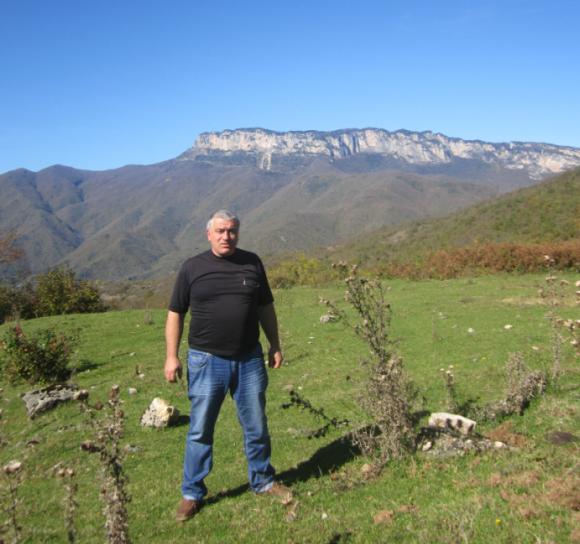 гора - хребет Хвамли