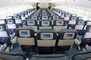 Какие лучшие места в Боинге 767 300 трансаэро. Схема салона