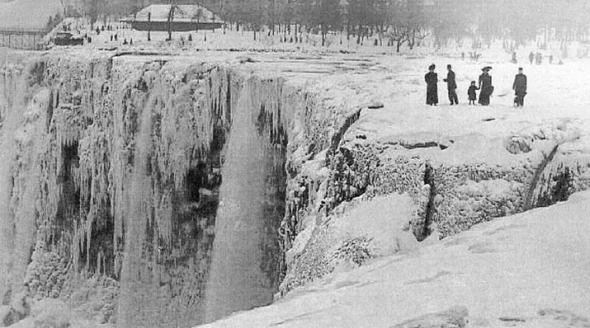 ниагара замерзла 1848 году