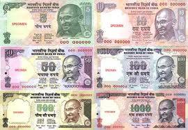 Индийская валюта рупии. Индийские деньги