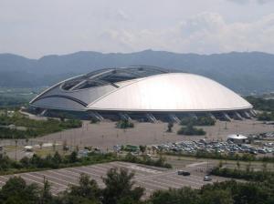 Самый большой купол. Стадион оита