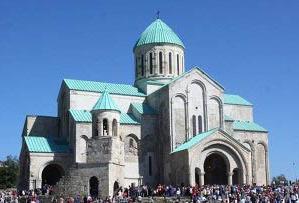 Храм Баграта в городе Кутаиси
